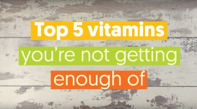 TOP 5 VITAMINS COVER